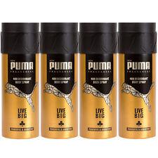 Puma 48H Deo Spray Body Spray LIVE BIG 4 x 150 ml