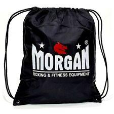 Morgan Sports - Draw String Back Pack - Water Resistant Gym Sack Bag