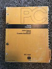 John Deere Jd750 Crawler Bulldozer Parts Catalog Pc1521
