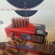 Deko Patrone 15 Stück für Kaliber 9mm  Geschoss Original, Absolut ungefährlich!
