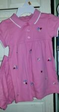 Carter's Baby Girl Embroidered Pink Dress, Size: 12 Months, Nwt
