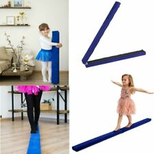 7ft Sectional Gymnastics Floor Balance Beam Skill Performance Training Folding B