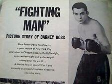 58101 ephemera picture barney ross article fighting man 1960