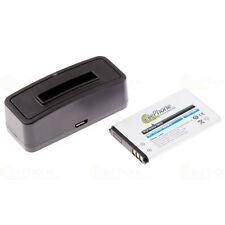Bateria-estación de carga + batería bea-fon s20-Philips scd610 Wintec WBT - 100 200 201 300