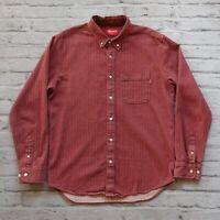 Vintage Supreme Herringbone Shirt M L Denim