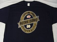 NOTRE DAME FIGHTING IRISH - NAVY BLUE - FIESTA BOWL - XL SIZE T SHIRT!