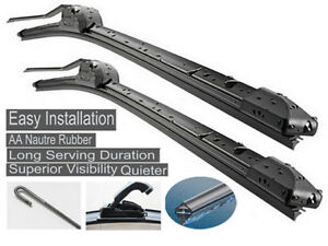 Fit Renault Scenic 2001-2005 Complete Windshield Wiper Blades 2416