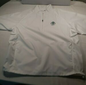Kate Lord Golf Pullover womans XXL 1/4 Zip White 2016 US Senior Open