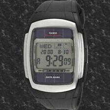 Casio DB-E30-1AV Tough SOLAR Databank Watch World Time 16 Languages Brand New