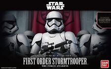 BANDAI STAR WARS MODEL KIT first order stormtrooper MAQUETTE 1/12 A MONTER
