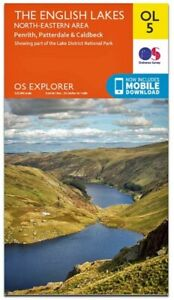 OS Explorer Map OL5 The English Lakes, North- Eastern Area