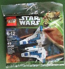 NEW, SEALED! Lego STAR WARS Polybag Set 30241 MANDALORIAN FIGHTER Retired