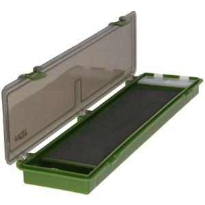 NGT Carp Fishing Tackle Box Rig Board Wallet Plastic Stiff + 20 Pins For Hair