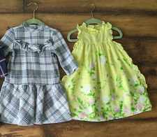 Janie and Jack girls dress size 3 3t lot of 2