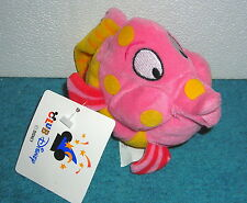"CLUB DISNEY LITTLE MERMAID UNDERSEA CRITTER FISH #1 8"" BEAN BAG PLUSH TOY"