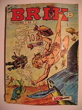 "BRIK  Fishboy "" la mort rouge "" N° 151 du  10/1970  Mon Jounal"