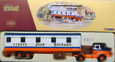 CORGI EX70003 FRENCH HERITAGE Berliet TLM Couchettes Cirque Jean Richard