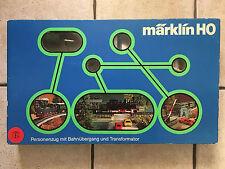 Trenino elettrico electric train Marklin Startset HO 2940