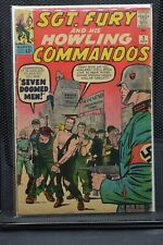 Sgt Fury and His Howling Commandos #2 Marvel Silver Age Comics 1963 Stan Lee 4.0
