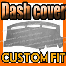 Fits 2006-2006  MITSUBISHI LANCER  DASH COVER MAT DASHBOARD PAD / LIGHT GREY
