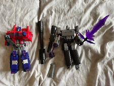 Transformers Prime Orion Optimus Toyworld Hegemon Megatron Loose Lot