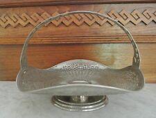 Vintage Manning Bowman Quality  Meriden Conn  2311  Bride's Basket