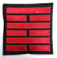 "GI Joe Black & Red Snake Eyes Movie Logo 3.5""  Patch- FREE S&H (GIPA-04R)"