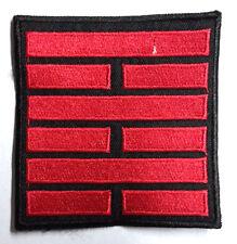 "GI Joe Black & Red Snake Eyes Movie Logo 3.5""  Patch- FREE S&H (GIPA-04R)"