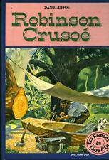 Livre Robinson Crusoé Daniel Defoe book