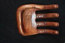 Holz Hand Schmuck Halter Ablage Deko Riesig abstrakt Handarbeit Blickfang //B
