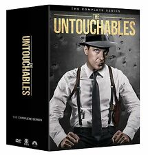 The Untouchables Complete Series DVD 31-disc Set 2016 Robert Stack Chicago
