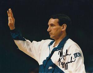 Mike Krzyzewski - Duke Basketball Coach - Autographed 8x10 Photo