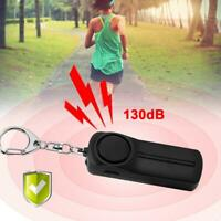 Safesound Personal Alarm Women Keychain 130dB Self Alarm Security with LED Light
