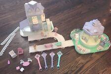 Vtg Fisher Price Precious Places Gazebo Nursery Magic Keys House Furniture Light