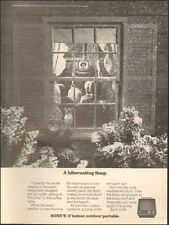 "1971 Print ad for Sony's 11"" indoor; outdoor portable TV  photo (092616)"