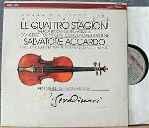 Accardo. Vivaldi (Four Seasons; etc). Philips 422 065 dig. NM
