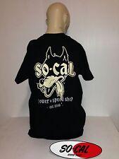 So-Cal t-shirt Wolf BLACK sz XL rear print hot rod 32 ford chev