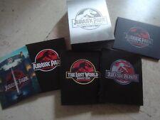 Jurassic Park TRILOGY 3D Blu-Ray 3 SteelBook BOX TIN slipcover Lenticular HDzeta