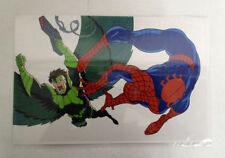 Spider-Man The Animated Series Promotional Animation Cel Spider-Man vs Vulture