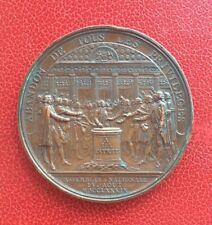 France - Très Jolie Médaille Louis XVI - Restaurateur de La Liberté Française