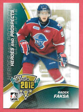2011-12 Radek Faksa ITG In The Game Heroes & Prospects Class of 2012 Rookie