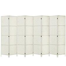 Artiss 8 Panels Room Divider Screen Stand - White