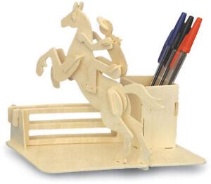 Horse-Riding Pen-Holder    QUAY Woodcraft Construction Kit FSC
