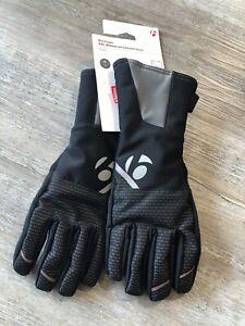 M Bontrager Trek RXL Waterproof Softshell M Gloves NEW