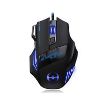 3200DPI 8D T80 Blood Bat Optical 7 Buttons Usb PC Gaming Mouse LOL RAZER