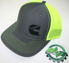 Dodge Cummins trucker hat ball mesh richardson safety yellow neon snap back
