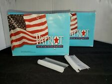 """Patriot J-Hook fasteners lot of two boxes 5000 each1.5"""" for regular tagging gun"""