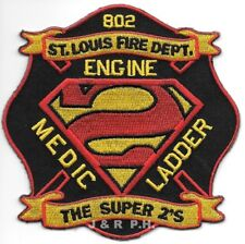 "*NEW*  St. Louis  Station - 2 ""Super 2's"", Missouri (4"" x 4"" size) fire patch"