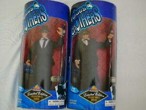 Jake + Elwood Blues Brothers 1997 Limited Edition Exclusive Premiere Figures