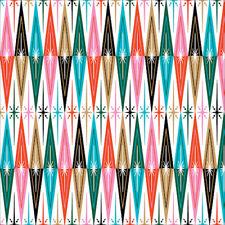 Organic Cotton Christmas Fabric Cheer - Clarice Gifford's Tinsel Range - Cloud9